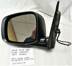 2008-2020 OEM Dodge Caravan + 2008-2016 Chrysler Town and Country Left  Mirror
