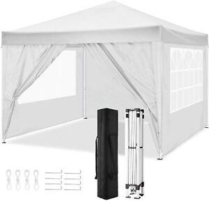 3x4m Waterproof Gazebo Garden Marquee Wedding Party Canopy Tent Heavy Duty&Sides