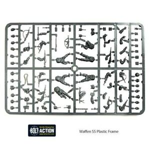 Waffen SS, Plastic Sprue, Bolt Action, Warlord Games, German Army