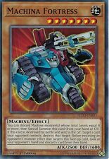 YU-GI-OH CARD: MACHINA FORTRESS - LEDD-ENB11 - 1ST EDITION
