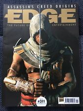 Edge Magazine 311 November 2017 exclusive subscriber cover: Assassin's Creed