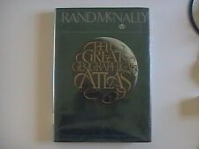 Rand McNally The Great Geographical Atlas (1982,HC)