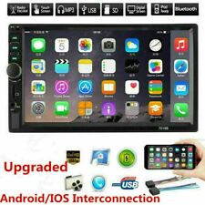 7 Double 7018B 2 DIN Car MP5 FM Stereo Radio MP5 Player Touch Screen Bluetooth