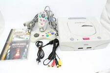 Sega Saturn Console  White HST-0014 tested working japan