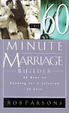 The Sixty Minute Marriage Builder: An Hour of Reading for a Lifetime o-ExLibrary