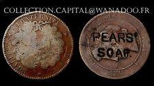 10 centimes 1871. Surchargé PEARS SOAP.