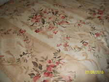 Macro- Suede Heavy duty Floral Upholstery Fabric Material 15 metres wholesale