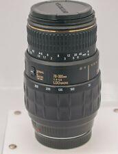 Quantaray 70-300mm F4-5.6 Minolta Maxxum Sony Alpha Camera Zoom Lens *MF Only*