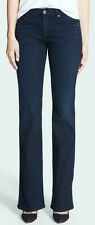 WOMENS NWT 7 SEVEN FOR ALL MANKIND JEANS KIMMIE BOOT LILAH BLUE BLACK SZ 25 X 33