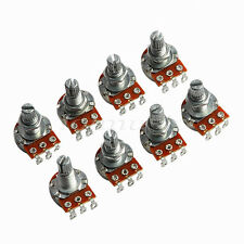 8X Guitar Potentiometer A500k OHM Base Dia/18mm Shaft 16mm