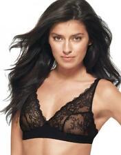 "WACOAL ""Seduction"" Lace Bralette Size 38 Black Wire Free Comfort NWT"
