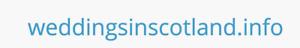 Domain name - WEDDINGSINSCOTLAND.INFO ideal wedding celebrant planner