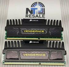 CORSAIR VENGEANCE 8GB KIT 4GBx2 PC3-1600 SDRAM Memory (CMZ8GX3M2A1600C8)