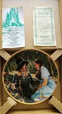 (6) Wizard Of Oz Commemorative Plates