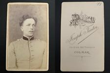Tiator, Colmar, von Rothkirch und Panthen Vintage albumen carte de visite, CDV.