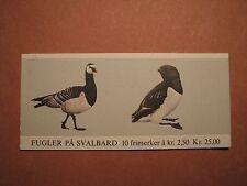 Norway Stamp Scott# 822a Booklett Birds 1983 MNH C49