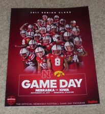 2017 Nebraska vs. Iowa Hawkeyes Football Program played 11-24-17 - HERO'S GAME