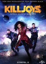 2 Blu-rays * KILLJOYS - Space Bounty Hunters - Staffel 2  # NEU OVP &
