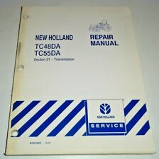 New Holland TC48DA TC55DA Tractor TRANSMISSIONS Service Repair Manual ORIGINAL!