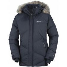 Columbia Lay D Down Womens Ski Snowboard Jacket Ladies Winter Snow Coat Fur £210