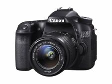 Canon EOS 70D 20.2MP DSLR Kamera w/18-55 mm IS STM Objektiv-Schwarz (8469B031)