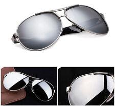 Men's Driving Mirrored Glasses Retro Polarized Sunglasses Outdoor Sports Eyewear