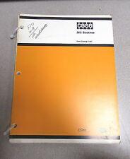 Case 26C Backhoe Back Hoe Parts Catalog Manual C1207 1978