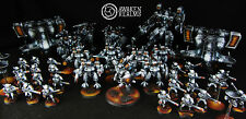 Warhammer 40 000 Tau Empire fully playable army by Awaken Realms (commission)