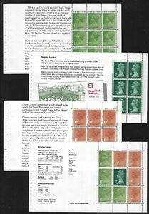 GB Stamps:  Panes from Prestige Booklet DX2 Wedgwood Unmounted Mint