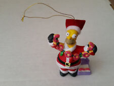 The Simpsons Ornament Santa Homer with Donuts 2008 Kurt S Adler