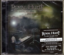 Royal Hunt - A Life To Die For CD+DVD Deluxe Edition Korea Import New Sealed CD