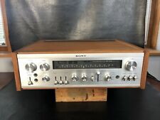 Sony STR-6120 FM Stereo Receiver HiFi 120-240V 60W Wooden Case CLEANED TESTED