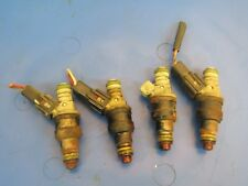 1991-1994 Ford Escort 1.9L OEM fuel injectors (4) pn# 0280150941