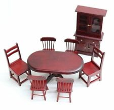Wooden Any Room Miniature Furniture Sets for Dolls
