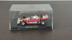 Ferrari 312 T2 1976 Niki Lauda Formula 1 IXO 1/43 con teca