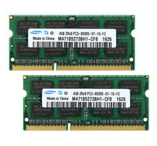 Samsung 8G 2PCS 4GB 2RX8 DDR3 1066MHz PC3-8500S 204PIN SO-DIMM Laptop RAM Memory
