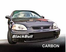 Haubenbra für Honda Civic 6. Car Bra Steinschlagschutz Tuning & Styling CARBON