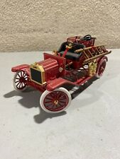 Franklin Mint 1916 Ford Model T Fire Engine 1/16 Die Cast S