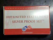 2009 US Mint Silver Proof Set with Box/COA - US Coins