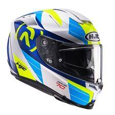 Casco Helm Casque Helmet HJC RPHA 70 LIF MC2 GIALLO BLU BIANCO M