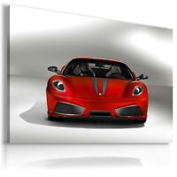 FERRARI 430 SCUDERIA RED Sport Car Large Wall Canvas Picture ART AU427 MATAGA