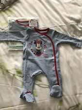Minnie Mouse Baby Girl Sleepsuit 6-9 Months BNWT