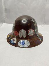 Skullgard Hard Hat Full Brim With Fas Trac Suspension Natural Tan Msa 475407