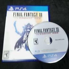 Final Fantasy Xii: The Zodiac Age Ps4 Sony