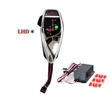 For BMW LED Gear Shift Knob PRO E60/E61 w/ Auto Reverse Hazard LHD - Chrome