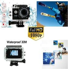 SPORT ACTION PRO CAM CAMERA FULL HD DV 1080p WATERPROOF VIDEOCAMERA SUBACQUEAcam