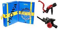 MOWA MX1 Mountain MTB Bicycle Bike Hydraulic Disc Brake Set w/160mm rotors Red