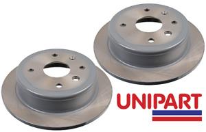 For Daewoo - Nubira 1.8 1.6 2003-2005 (J200) Rear 258mm Brake Discs Unipart