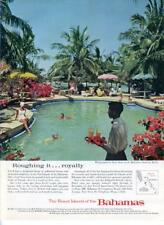 1962 Bahamas PRINT AD Photo by Ozzie Sweet Bahamian Island of Andsos