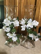 2 Home Interior Candle Stick Wheat Votive Cups Home Interior Flower Rings